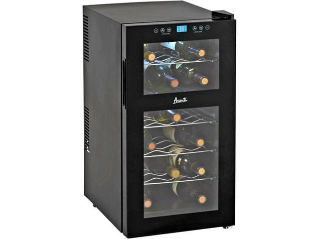 Avanti EWC18DZ Dual Zone Thermoelectric Wine Cooler Black