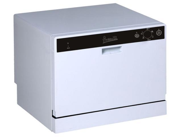 Countertop Dishwasher With Heated Dry : Avanti DW6W Portable Countertop Dishwasher White Dishwasher-Newegg.com