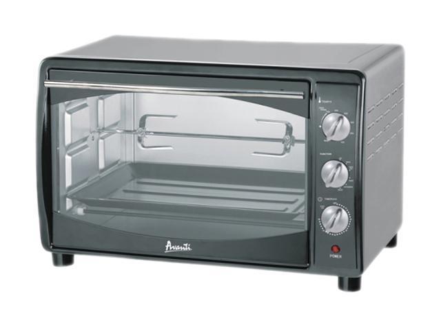 Avanti Mk42ssp Black Stainless Steel Toaster Oven