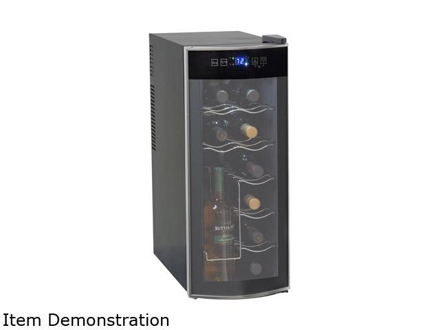 Avanti EWC1201B 12-Bottle Thermoelectric Counter Top Wine Cooler Black