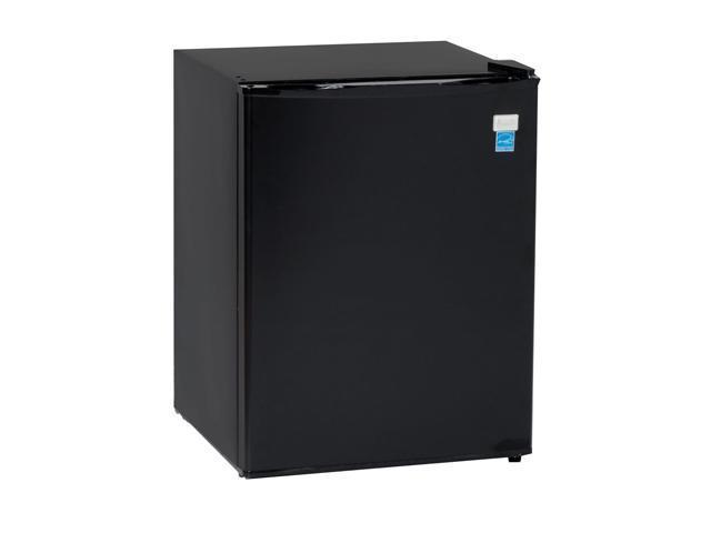 Avanti 2.4 Cu. Ft. Mid-size Refrigerator Black RM2411B