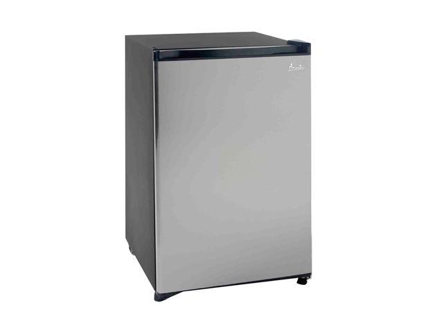 Avanti 4.5 Cu. Ft. Counterhigh Refrigerator Black w/Stainless Steel Door RM4589SS2