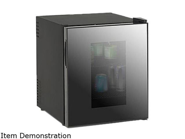 Avanti SBCA017G 1.7 Cu. Ft. Deluxe Beverage Cooler Black Cabinet w/See thru Window