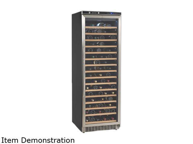 Avanti WCR682SS-2 160-Bottle 160 Bottles Wine Chiller Black with Stainless Steel