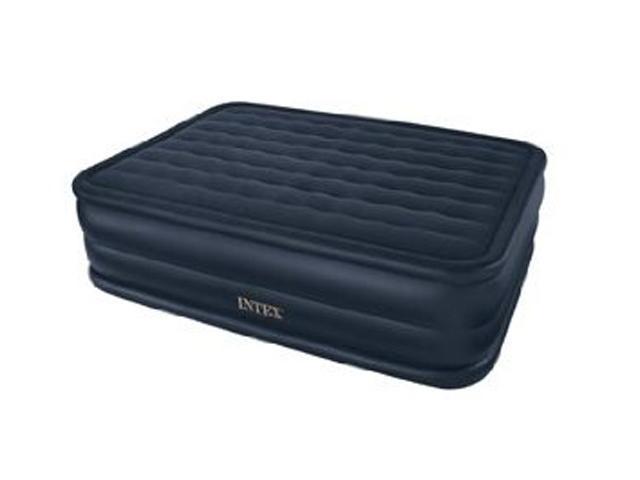 """Intex 66717E Rising Comfort 22"""" Airbed Mattress, Queen"""