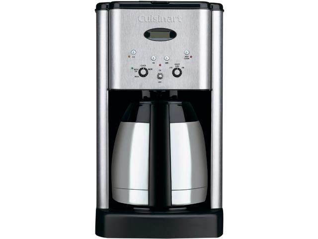 Cuisinart Coffee Maker 10 Cup Thermal Programmable : Refurbished: Cuisinart DCC-1400IHR Brew Central Thermal 10-Cup Programmable Coffee maker - Newegg.ca