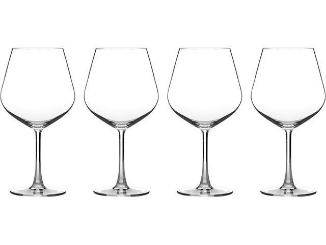Cuisinart  CG-02-S4BU  Advantage Glassware Essentials Collection Burgundy Glasses, Set of 4