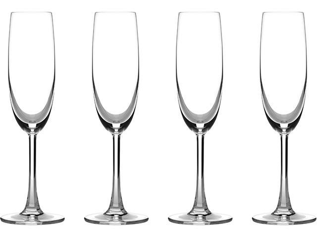 Cuisinart  CG-02-S4CF  Advantage Glassware Essentials Collection Champagne Flutes, Set of 4