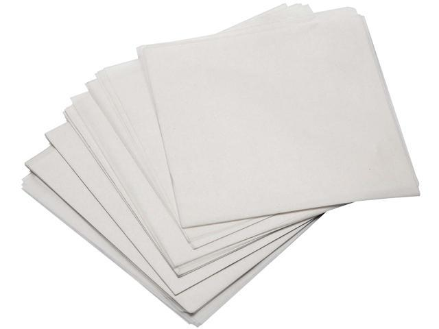 Cuisinart CWP-250 25 Count Non-Stick Burger Papers, Square Wax Sheets, White