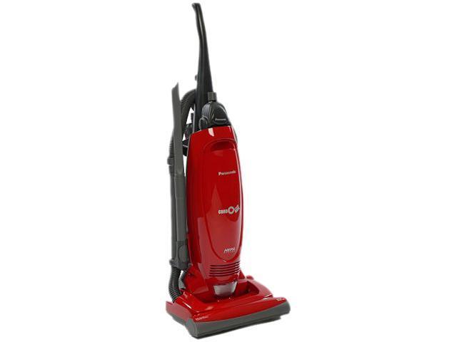 Panasonic Mcug471 Bagged Upright Vacuum With Cord Reel Red