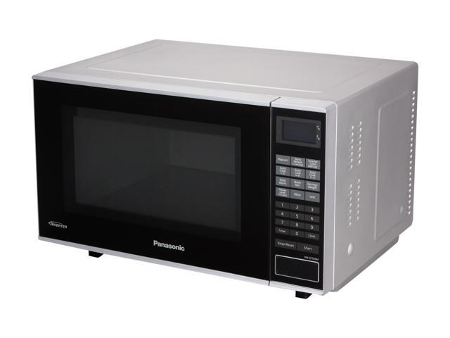Panasonic NN-SF550M 1.0 Cu. Ft. 1000 Watt Counter Top Microwave Oven with Inverter Technology