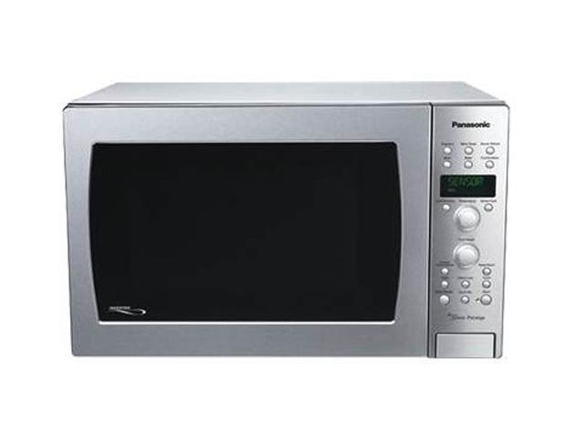 Panasonic 1100 Watts Convection Microwave Oven with Inverter Technology NN-CD989S Sensor Cook Silver