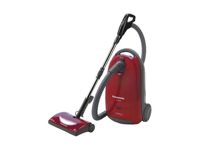 Panasonic MCCG902 Canister Vacuum Cleaner with HEPA Filter Burgundy