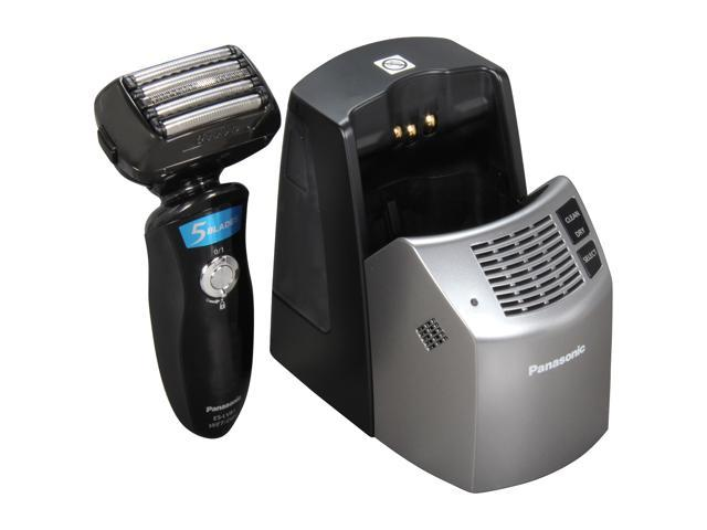 Panasonic 5-Blade Wet/Dry Shaver with Multi-Flex Head, Nanotech Blades, Quick Lift Foil and Automatic Cleaning and Charging System ES-LV81-K