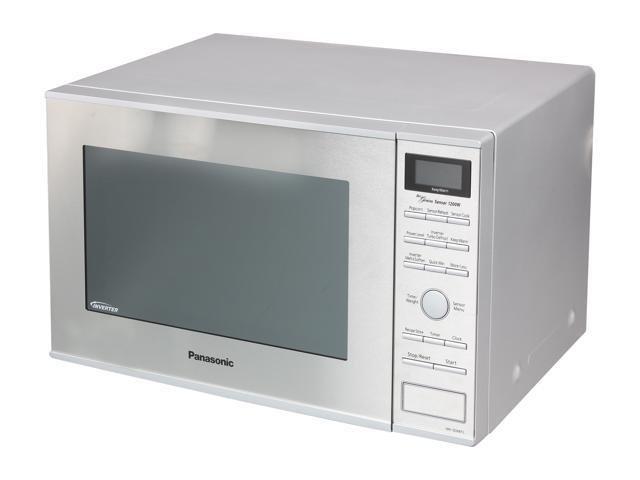 Panasonic NN-SD681S 1.2 cu. ft. 1200W Countertop/Built-in Microwave Oven, Inverter Technology