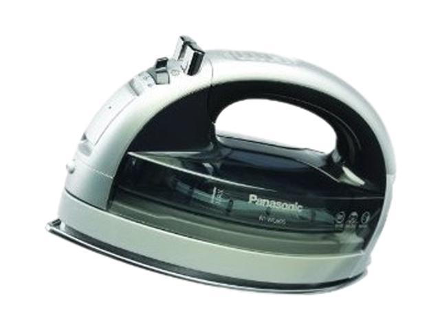 Panasonic NI-WL600 360° Freestyle Steam/Dry Iron Silver w/ Clear Gray Tank