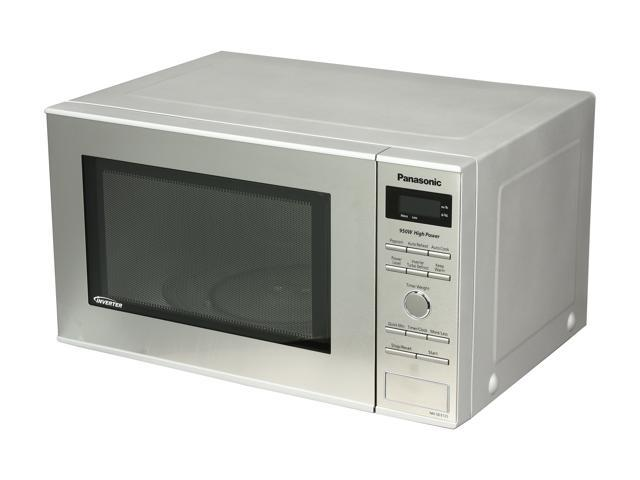 Panasonic NN SD372S Stainless 950W 0 8 Cu Ft Stainless Steel