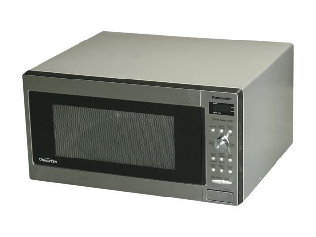 Panasonic 1250 Watts Microwave Oven NN-SD762S Stainless Steel