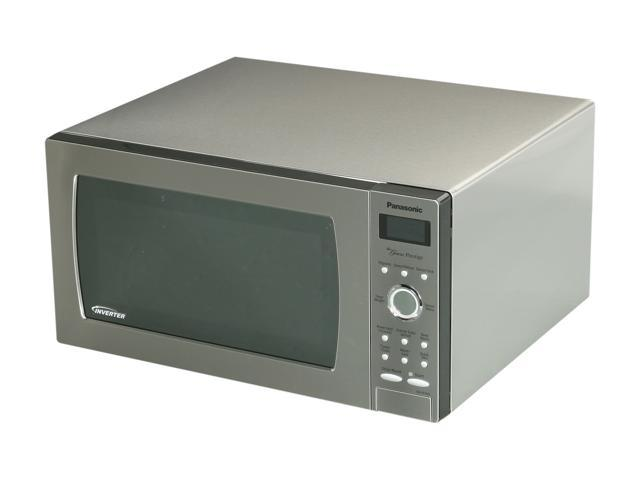 Panasonic NN-SE782S 1.6 cu. ft. Genius Prestige Countertop Built-in Microwave Oven with Inverter Technology