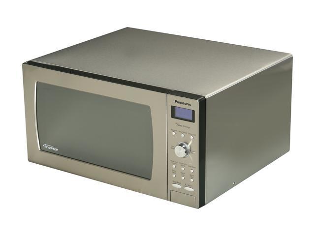 Panasonic 1250 Watts Microwave Oven NN-SD797S Sensor Cook Stainless Steel