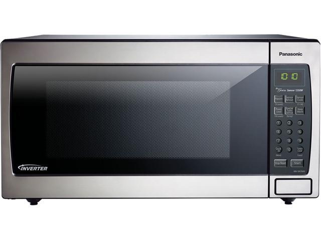 Panasonic 1250 Watts 1 6 Cu Ft Stainless Steel Microwave