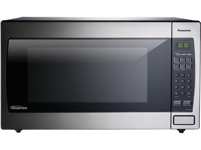 ft stainless steel microwave oven nnsn966s silver