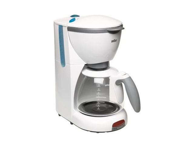 Coffee Maker Braun : Braun KF510-WH White AromaDeluxe KF 510 Coffee Maker - Newegg.com
