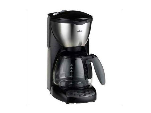Braun KF590 Black/Steel Impressions KF 590 E Coffee Maker - Newegg.com