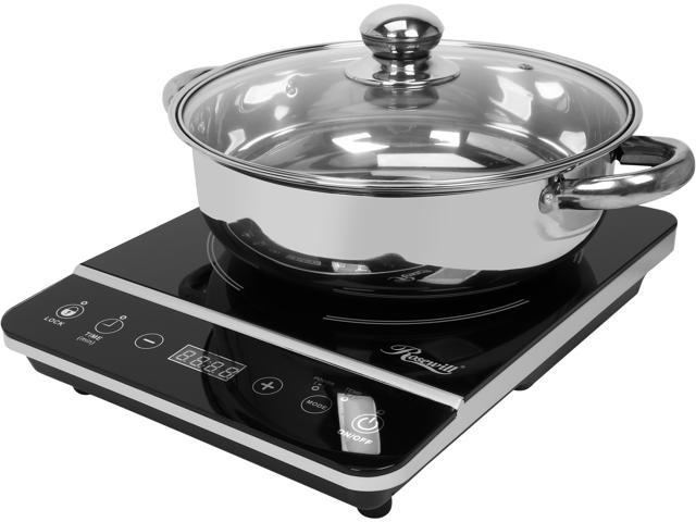 induction cooktop power usage monitor
