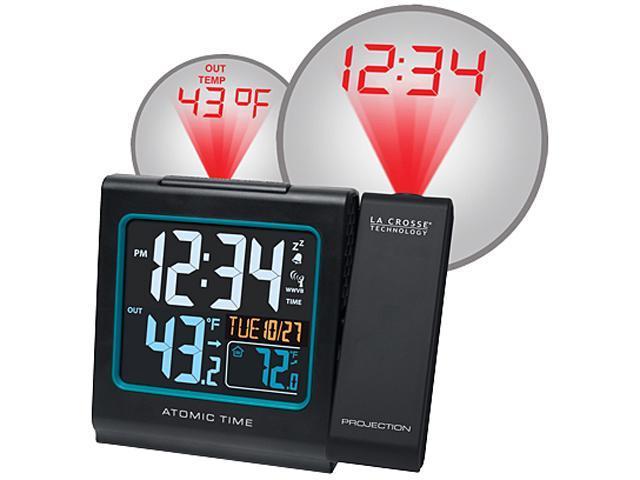 La Crosse Technology K86326 Atomic Projection Alarm Clock
