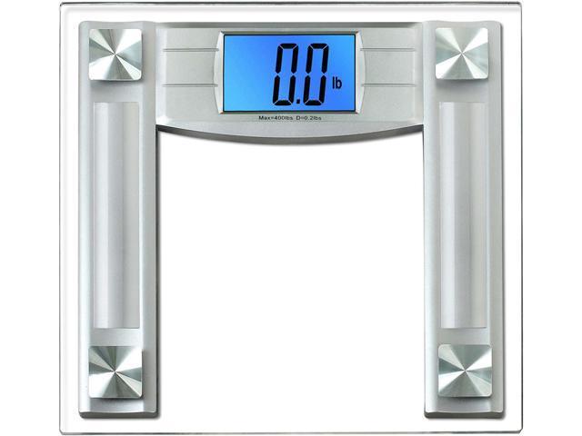 BalanceFrom BFHA-B400ST High Accuracy Digital Bathroom Scale with 4.3