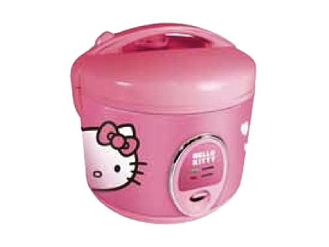 Hello Kitty APP-43209 Pink 1.5-Quart 400-Watt Automatic Rice Cooker