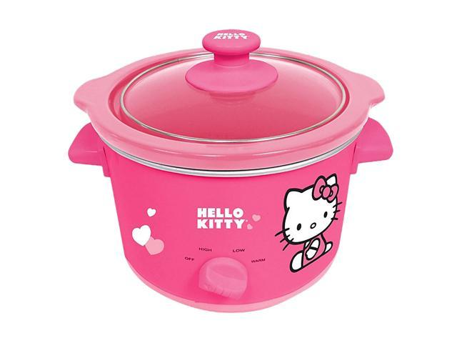 Hello Kitty APP-41209 Pink 135-Watt Slow Cooker