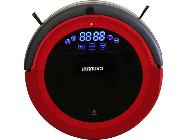Infinuvo Hovo 710 Red Pet Series Robotic Vacuum with HEPA Filter