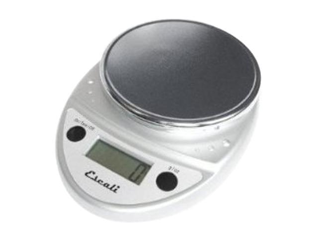 Escali Primo Chrome Digital Scale 11 lb / 5 Kg
