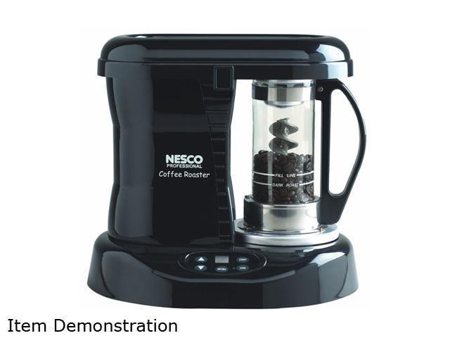 NESCO CR-1010PRR Black / Silver Professional Coffee Bean Roaster