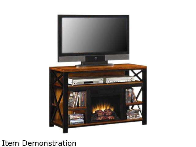 classicflame equinox 47 wide tv stand with inset electric fireplace birch 18mm3207 m250. Black Bedroom Furniture Sets. Home Design Ideas