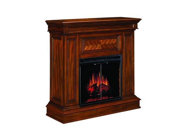 "ClassicFlame Corinth 42"" Wide Wall or Corner Electric Fireplace and TV Stand (Walnut) 23DM537-W502"