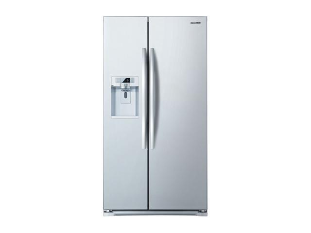 Samsung 24.0 cu. ft. Side by Side Refrigerator White RSG257AAWP