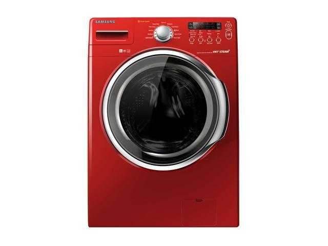 SAMSUNG WF331ANR Tango Red 3.7 cu. ft. Front-Loading Washer