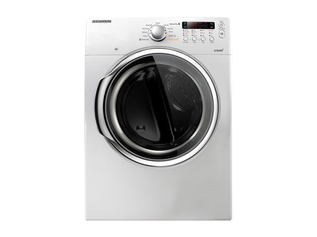SAMSUNG DV331AEW Neat White Electric Dryer