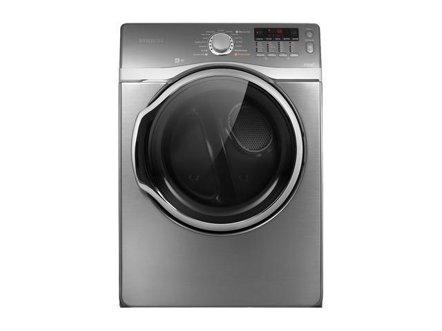 SAMSUNG DV431AEP Stainless Platinum Electric Dryer
