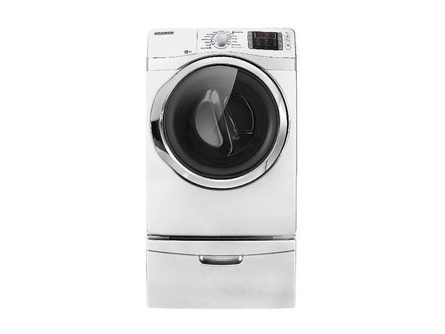 SAMSUNG DV511AEW Neat White 7.5 cu. ft. Electric Dryer