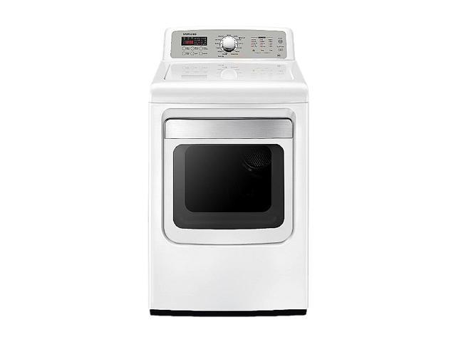 SAMSUNG DV5451AEW Neat White Electric Dryer