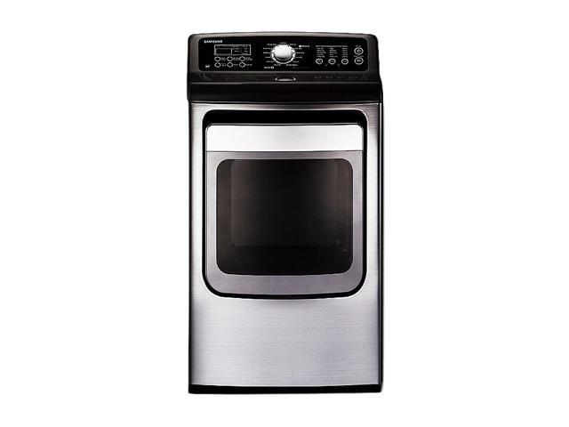 SAMSUNG DV5471AEP Stainless Platinum Electric Dryer