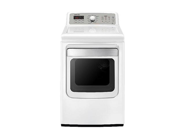 SAMSUNG DV5471AEW Neat White Electric Dryer
