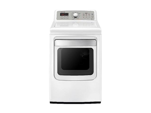 SAMSUNG DV5471AEW Neat White Electric Dryer