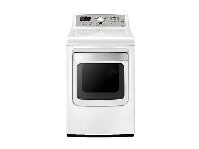 SAMSUNG DV5471AGW Neat White 7.4 cu. ft. Gas Dryer