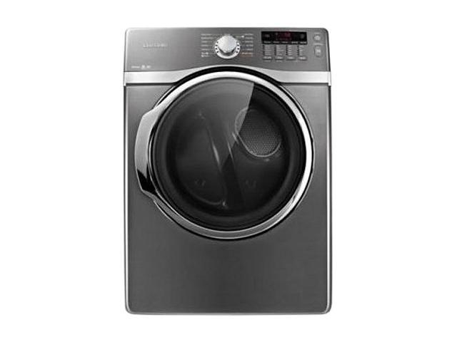 SAMSUNG DV405ETPASU Platinum 7.4 cu. ft. Electric Steam Dryer