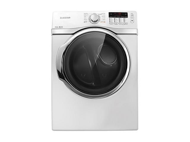 SAMSUNG DV405ETPAWR Neat White 7.4 cu. ft. Electric Steam Dryer